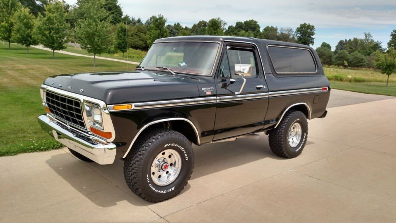 1979 ford bronco 1979 ford bronco classic car in romulus. Black Bedroom Furniture Sets. Home Design Ideas